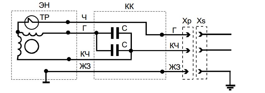схемы: ЭН - электронасос;