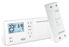 беспроводной комнатный терморегулятор фото