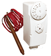 накладной терморегулятор с выносной гильзой фото