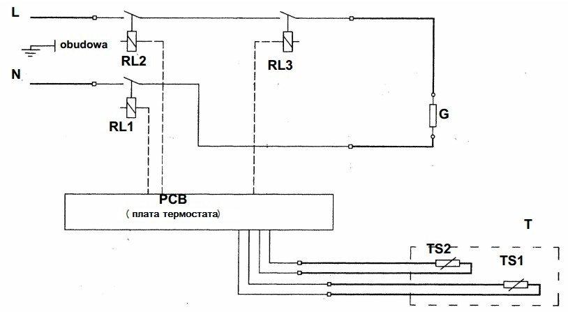 TS1 - датчик температуры