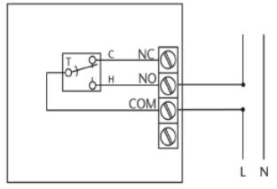 Salus RT100, термостат механический, суточный