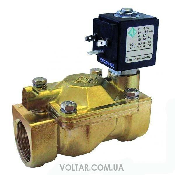 электромагнитный клапан для воды запорный