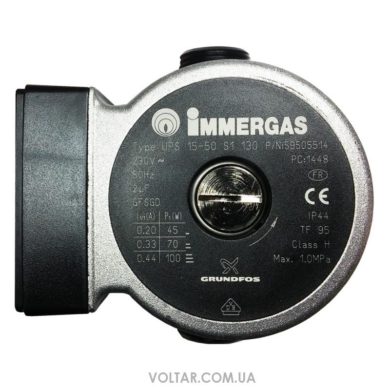 Grundfos ups 15 50 immergas mini star eolo nike for Caldaia immergas eolo star 23 kw