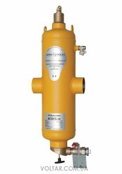 Spirotech SpiroCombi Air Dirt DN065 (под сварку) сепаратор воздуха и шлама с магнитом
