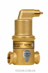 Spirotech SpiroVent Air SOLAR AutoClose 3/4